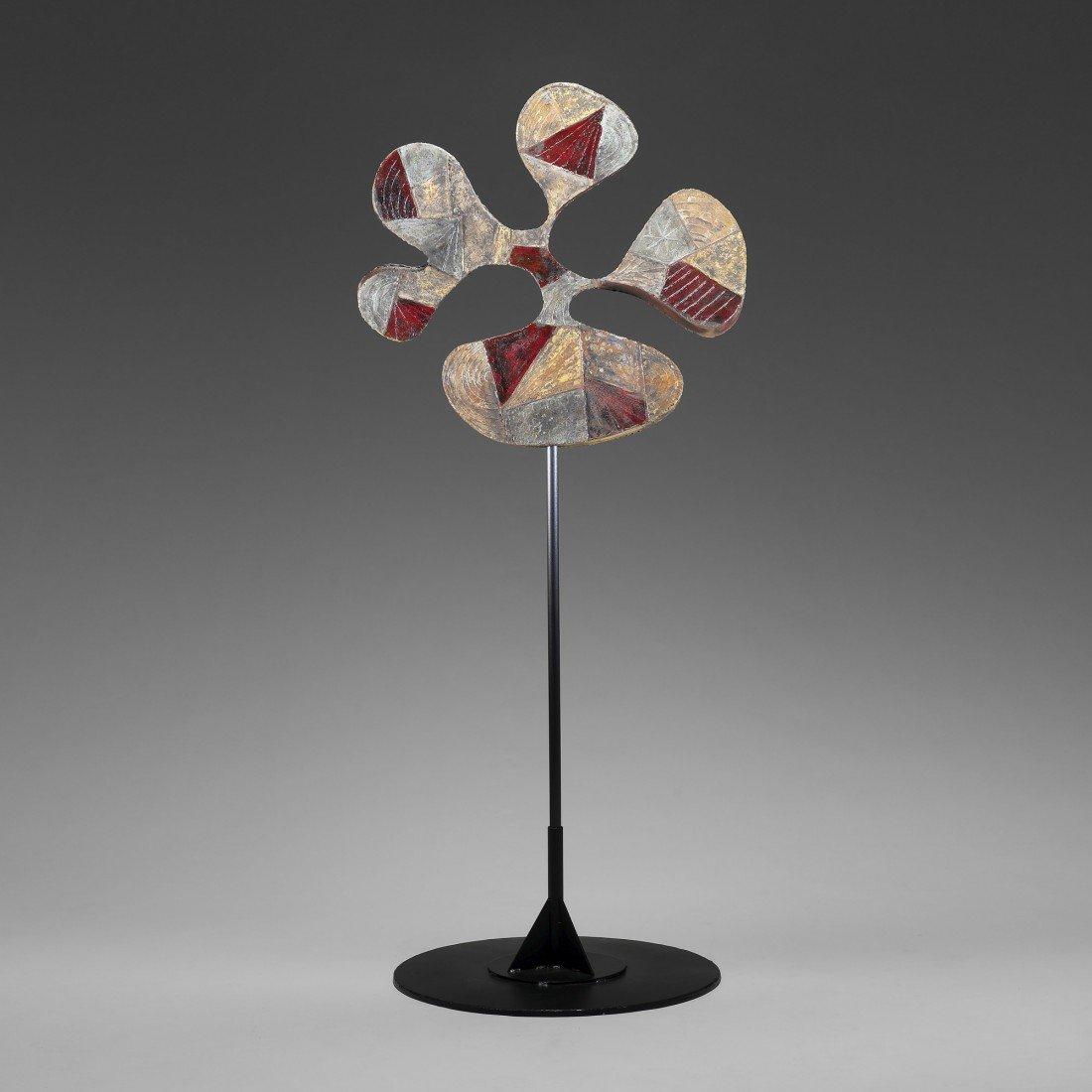 109: Paul Evans Polychromed sculpture