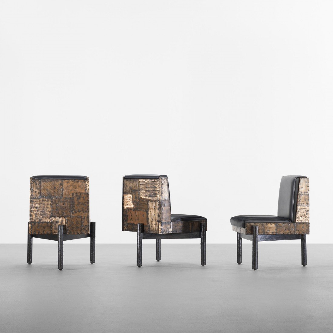 110: Paul Evans dining chairs, set of six
