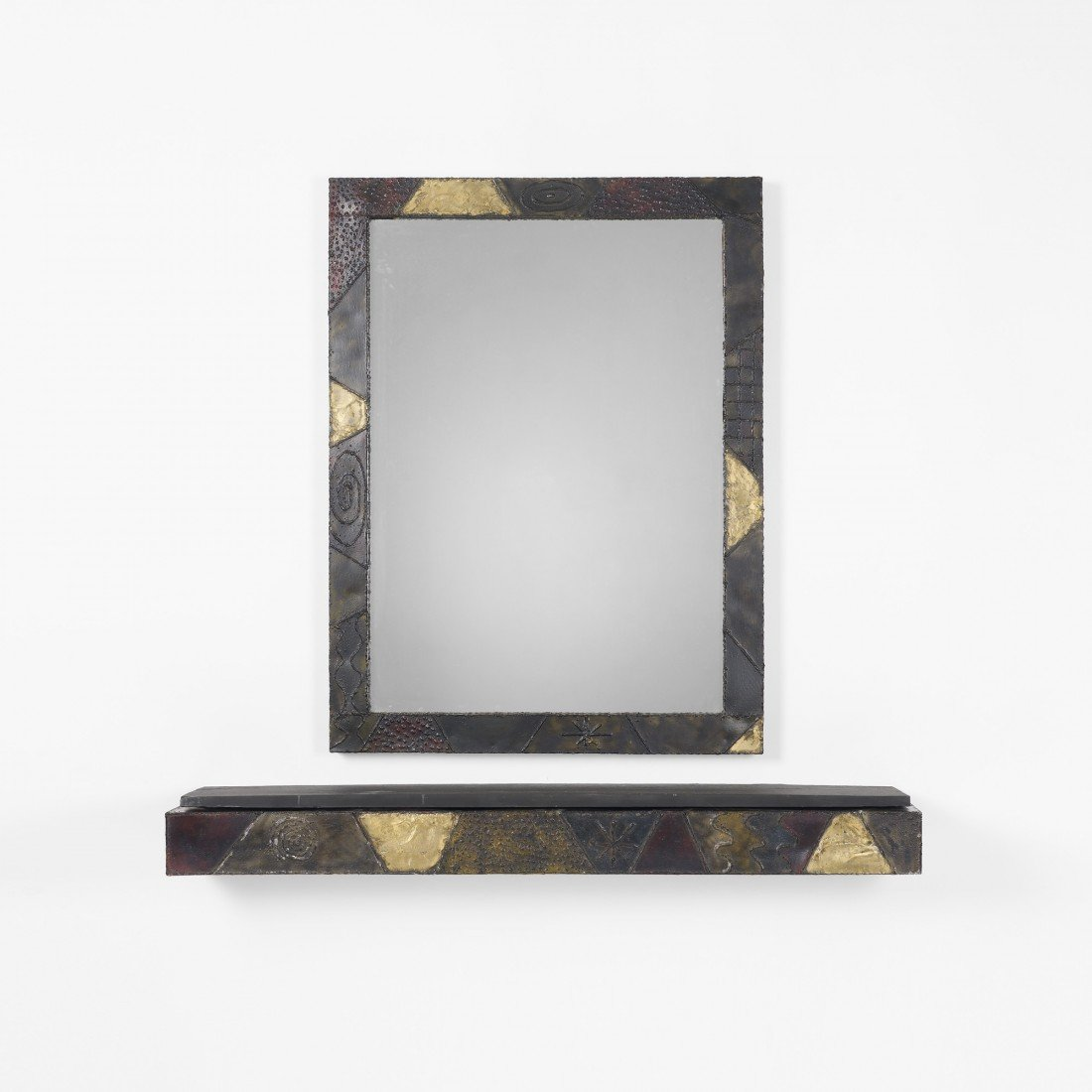 122: Paul Evans mirror and console