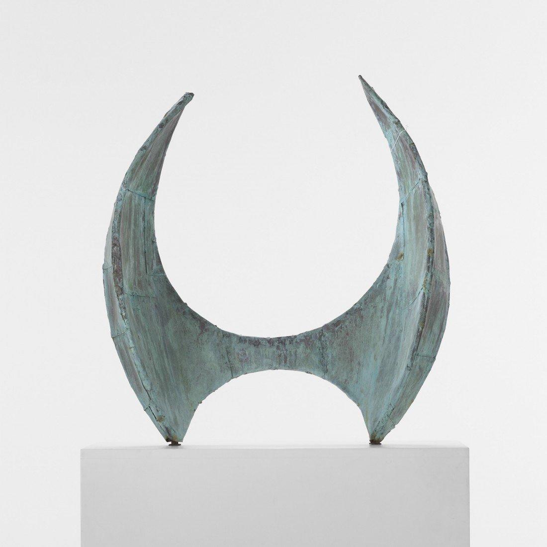 123: Paul Evans Angel Wings sculpture