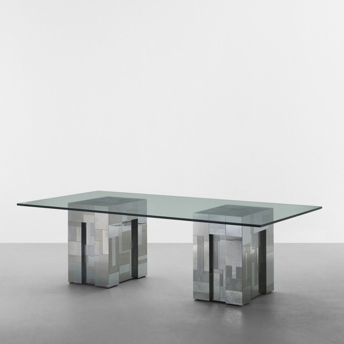 129: Paul Evans Cityscape dining table