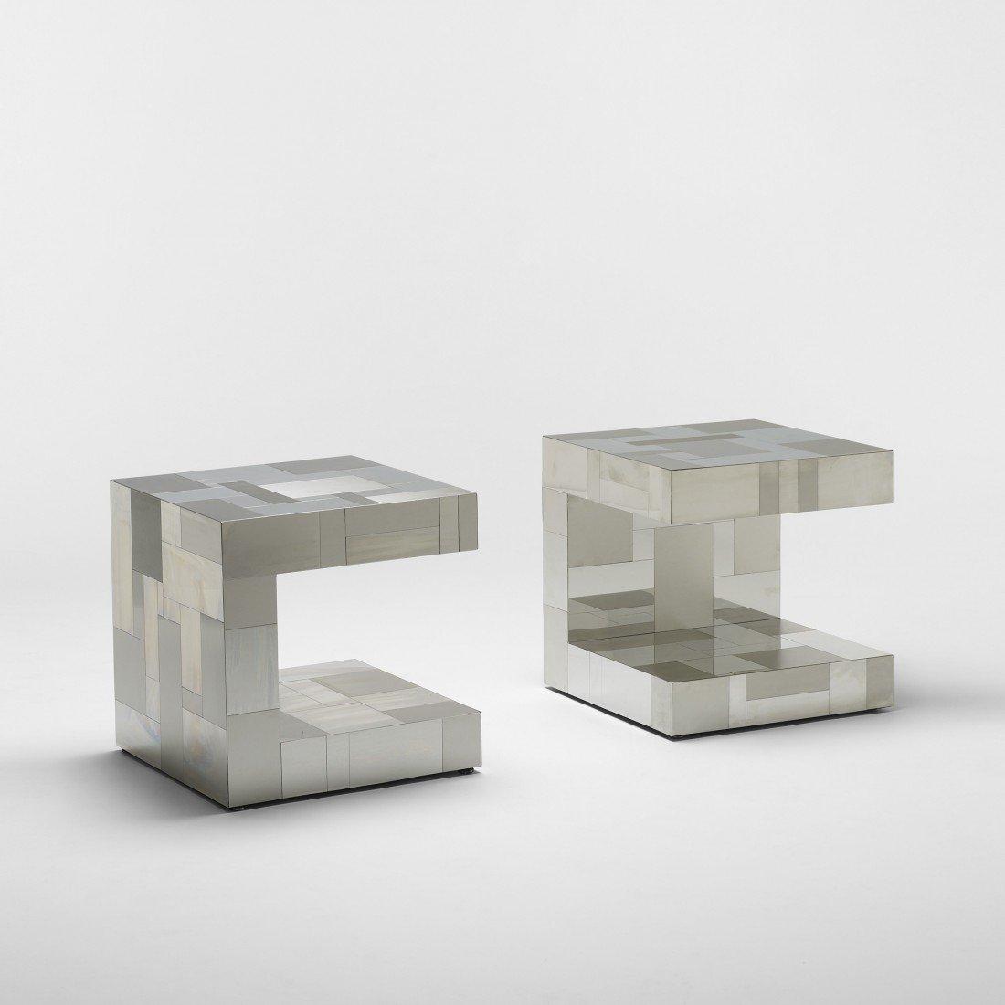 153: Paul Evans Cityscape tables, model PE 222