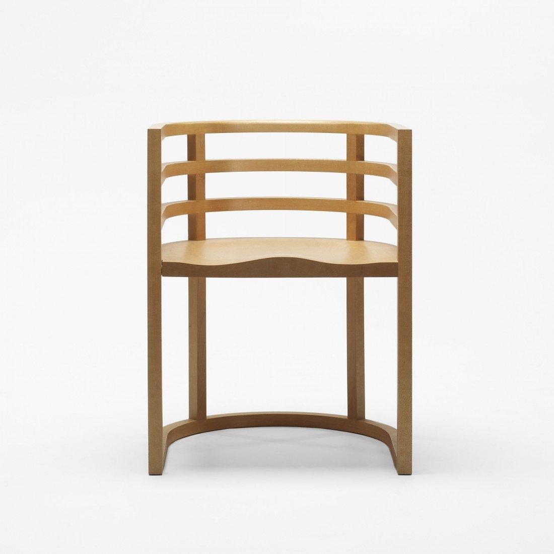 164: Richard Meier pre-production armchair