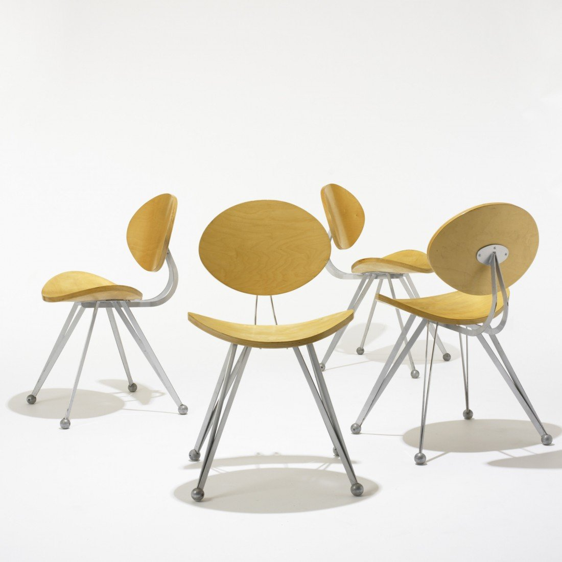 121: Ron Arad Anonimus chairs, set of four