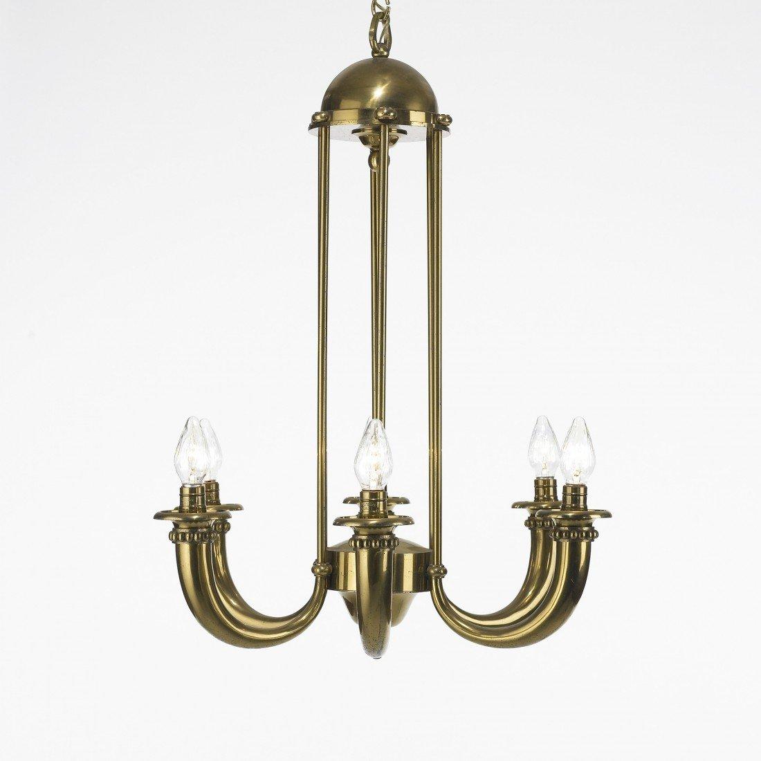 126: Art Deco chandelier