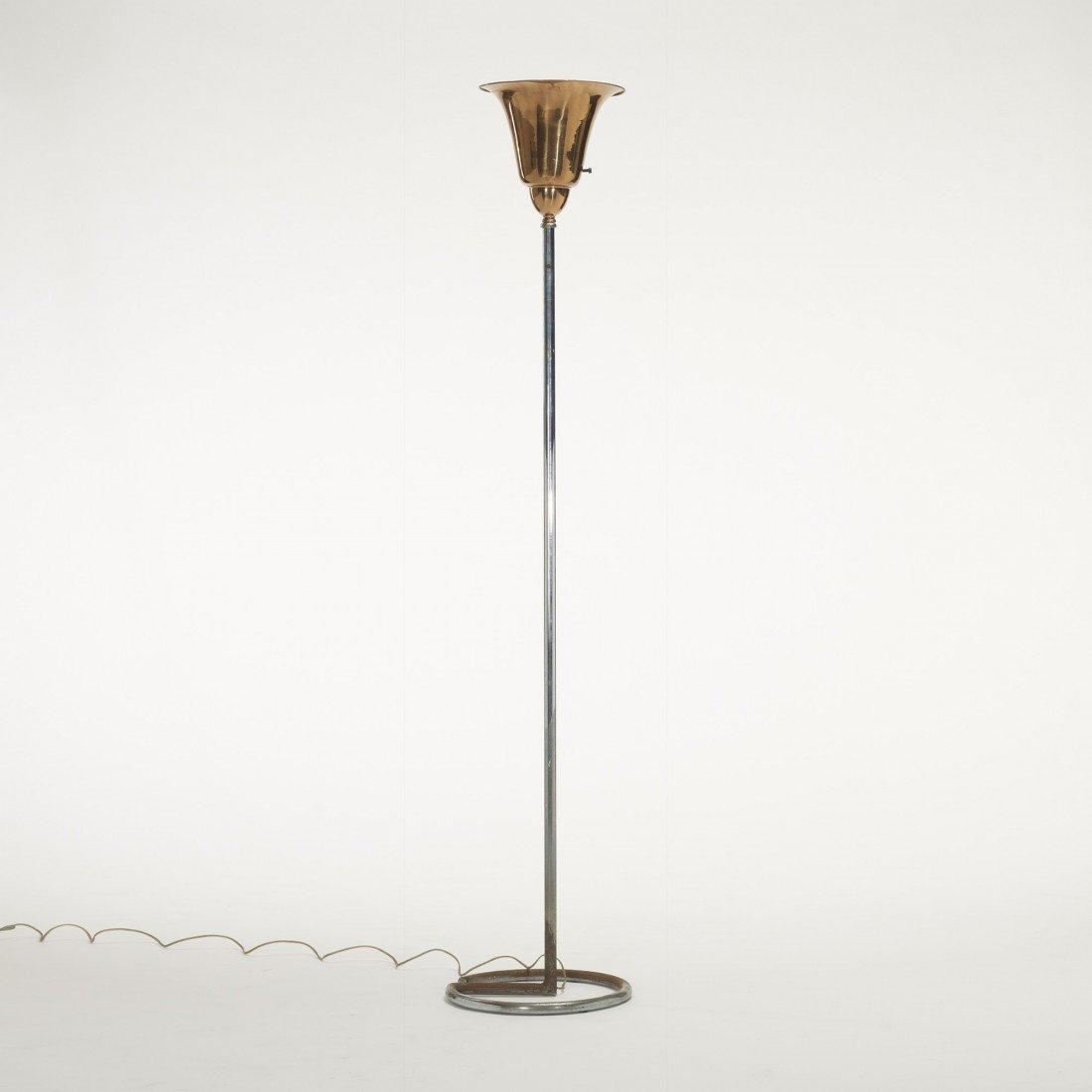 127: Art Deco floor lamp