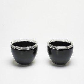 Alfredo Barbini Bowls, Pair