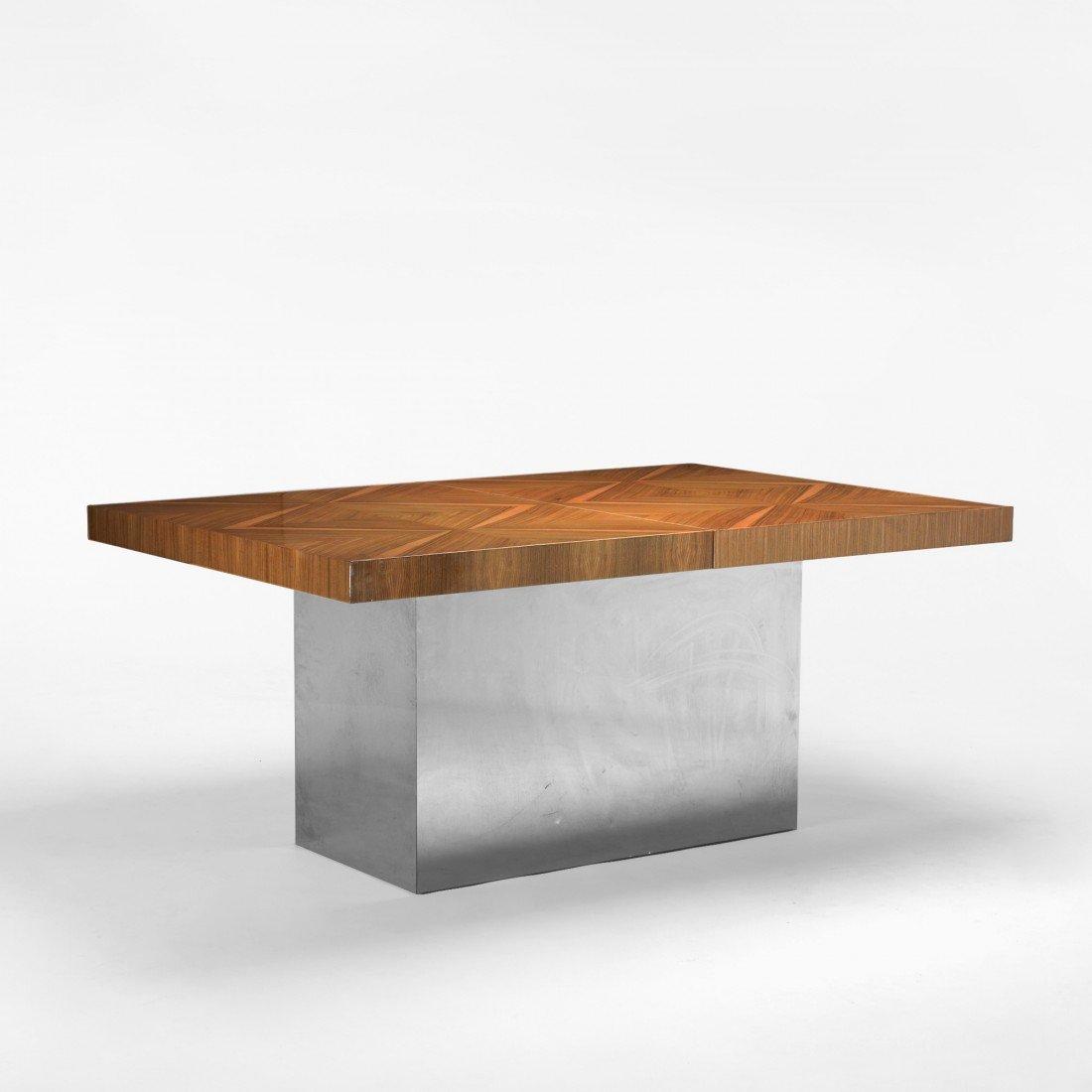 141: Milo Baughman dining table