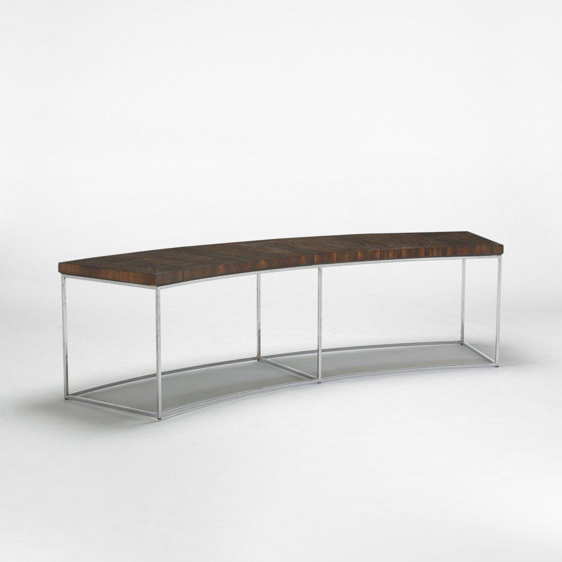 144: Milo Baughman sofa table