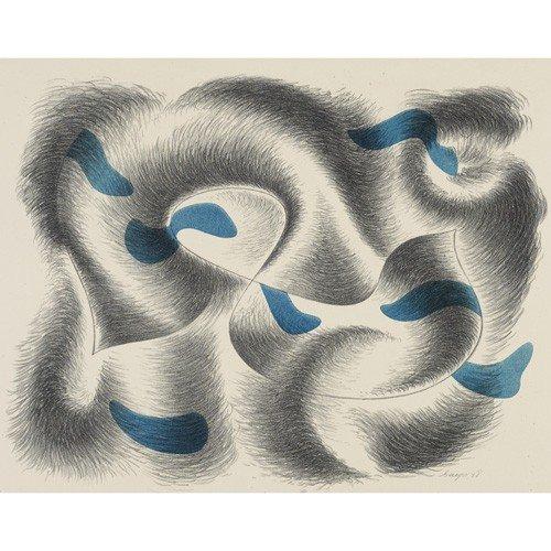 145: Herbert Bayer five works from Seven Convolutions