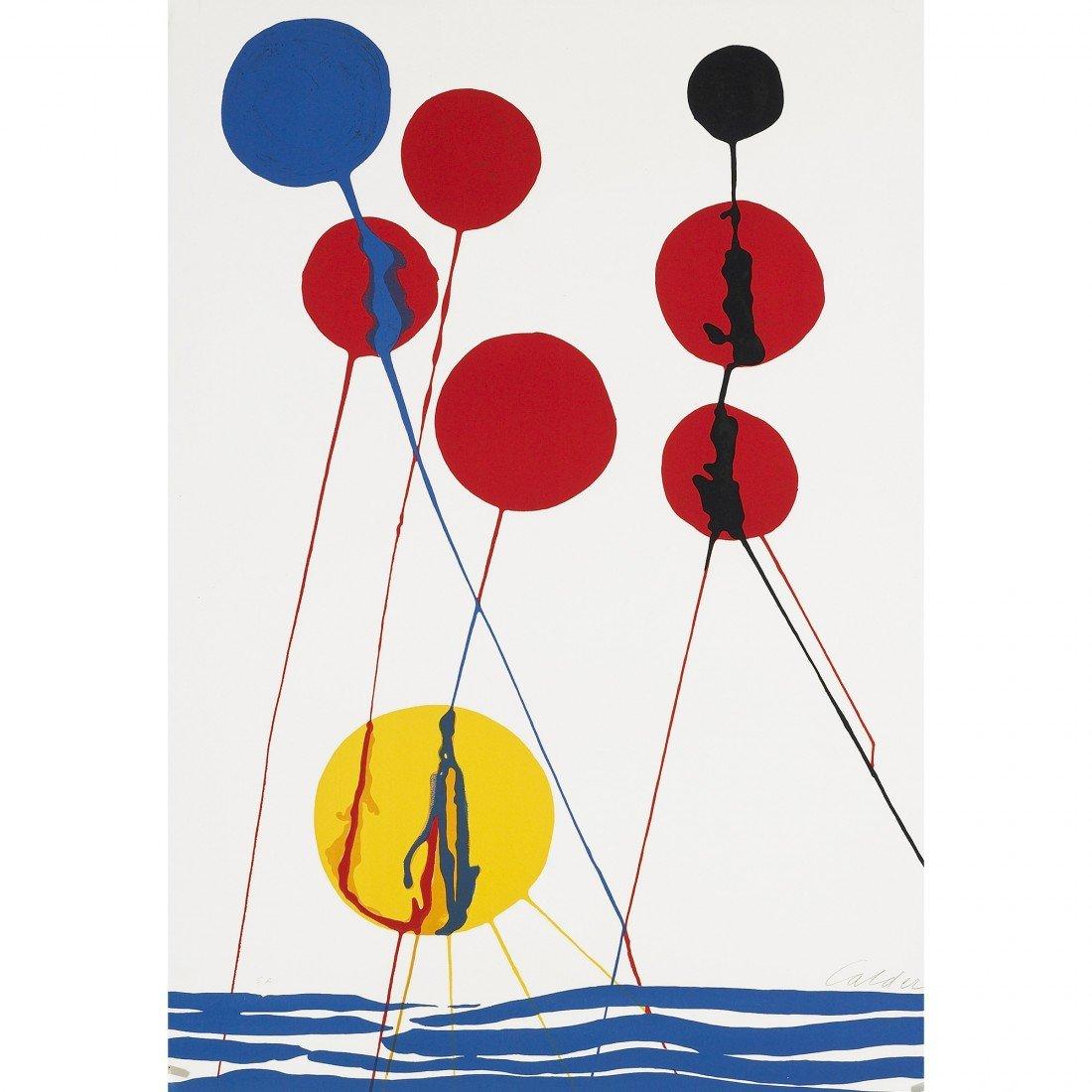 168: Alexander Calder Balloons