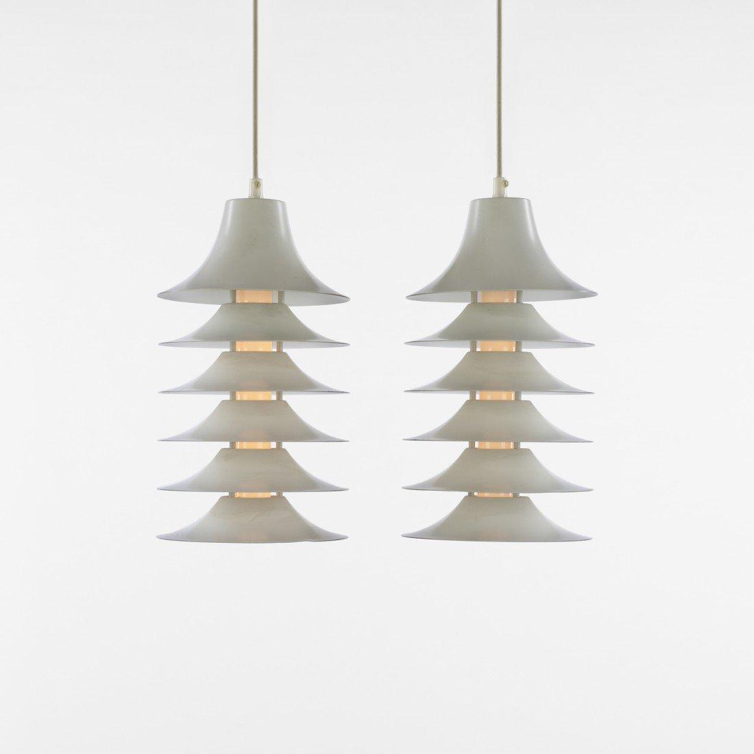 227: Jørgen Gammelgaard Tip-Top lamps, pair