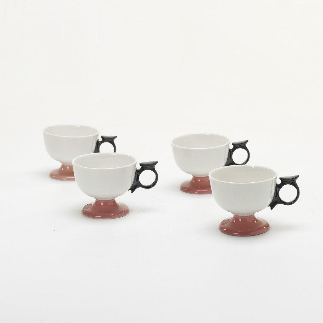 237: Alexander Girard La Fonda del Sol mugs, set of fou