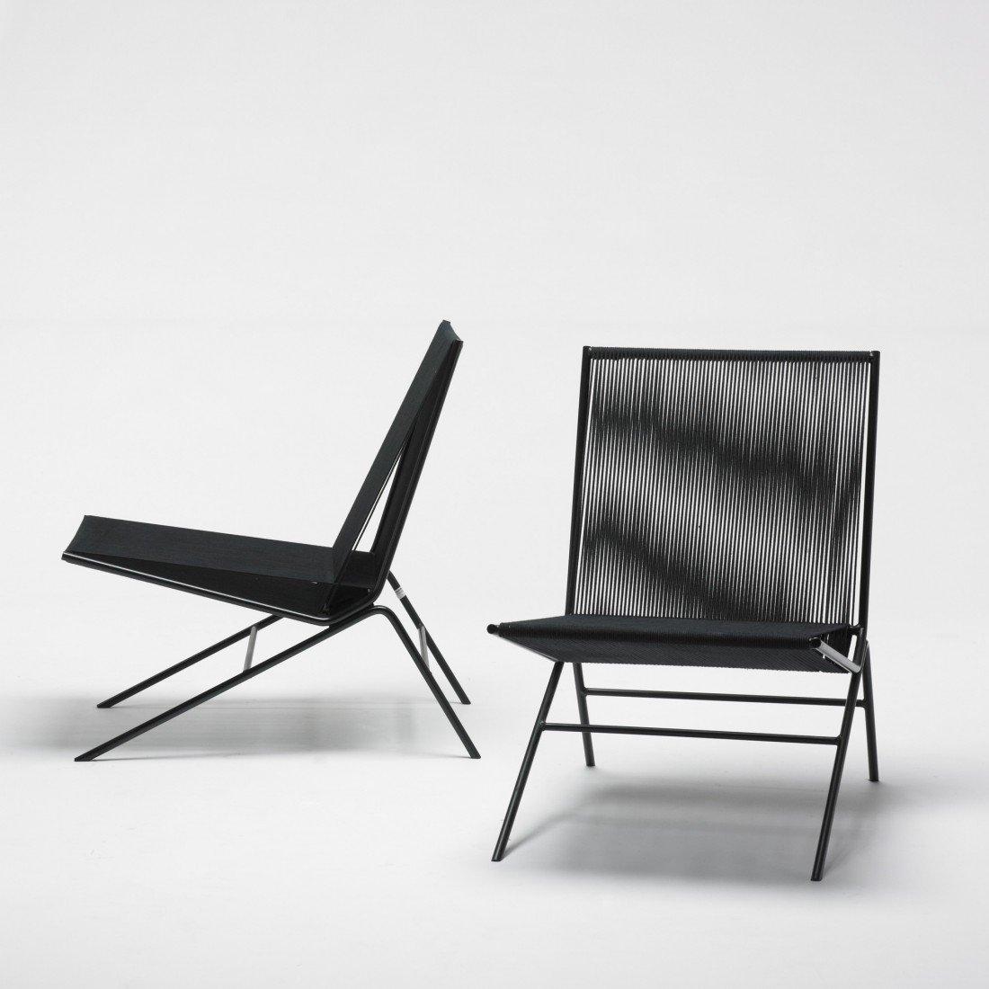 239: Allan Gould chairs, pair