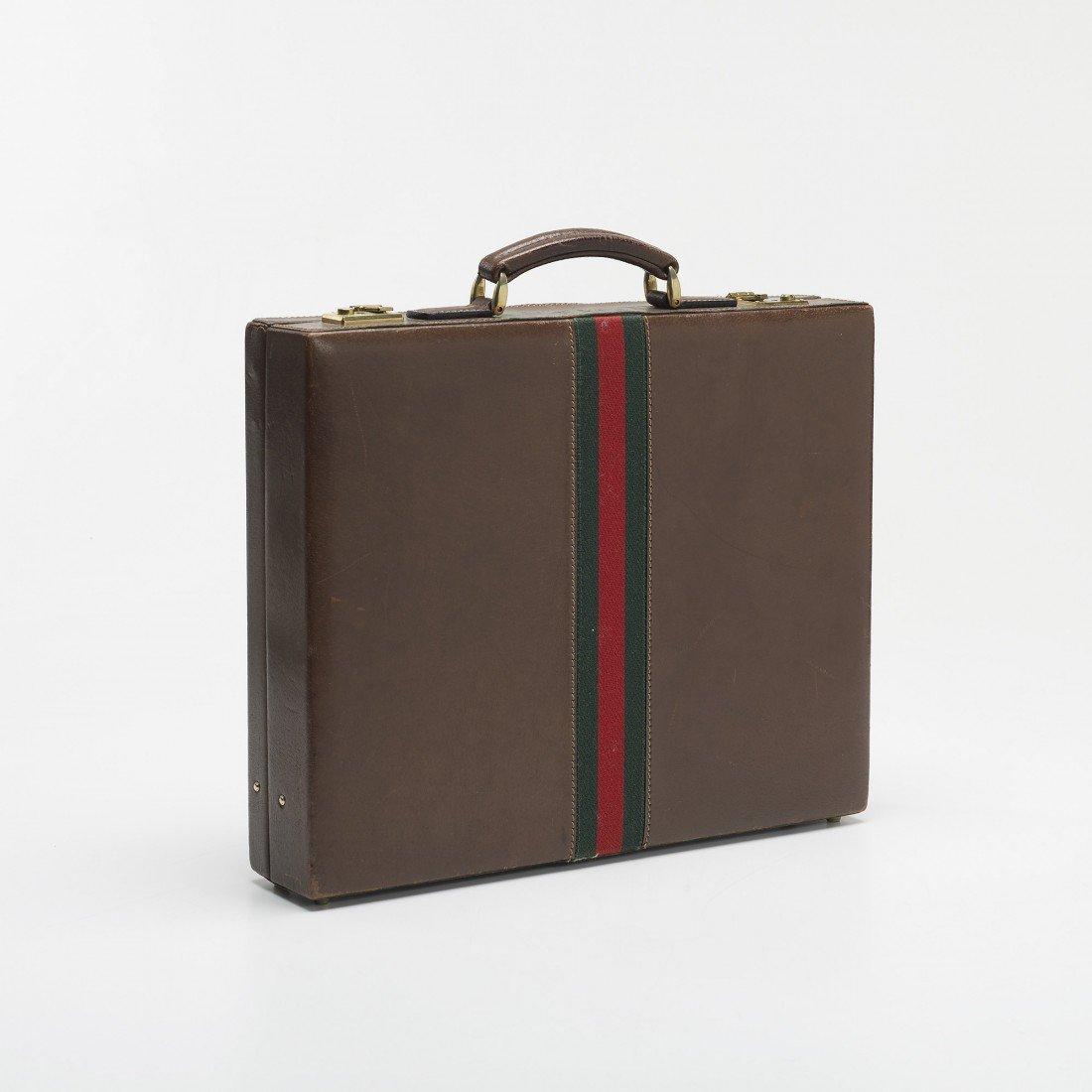 242: Gucci briefcase