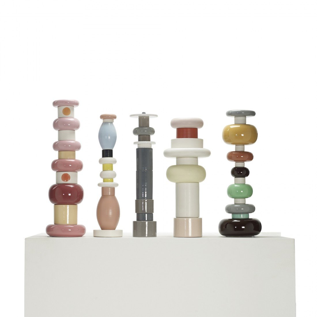 107: Ettore Sottsass totems, set of five