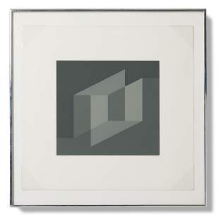 Josef Albers Never Before a