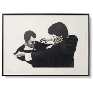 Robert Longo Frank and Glen