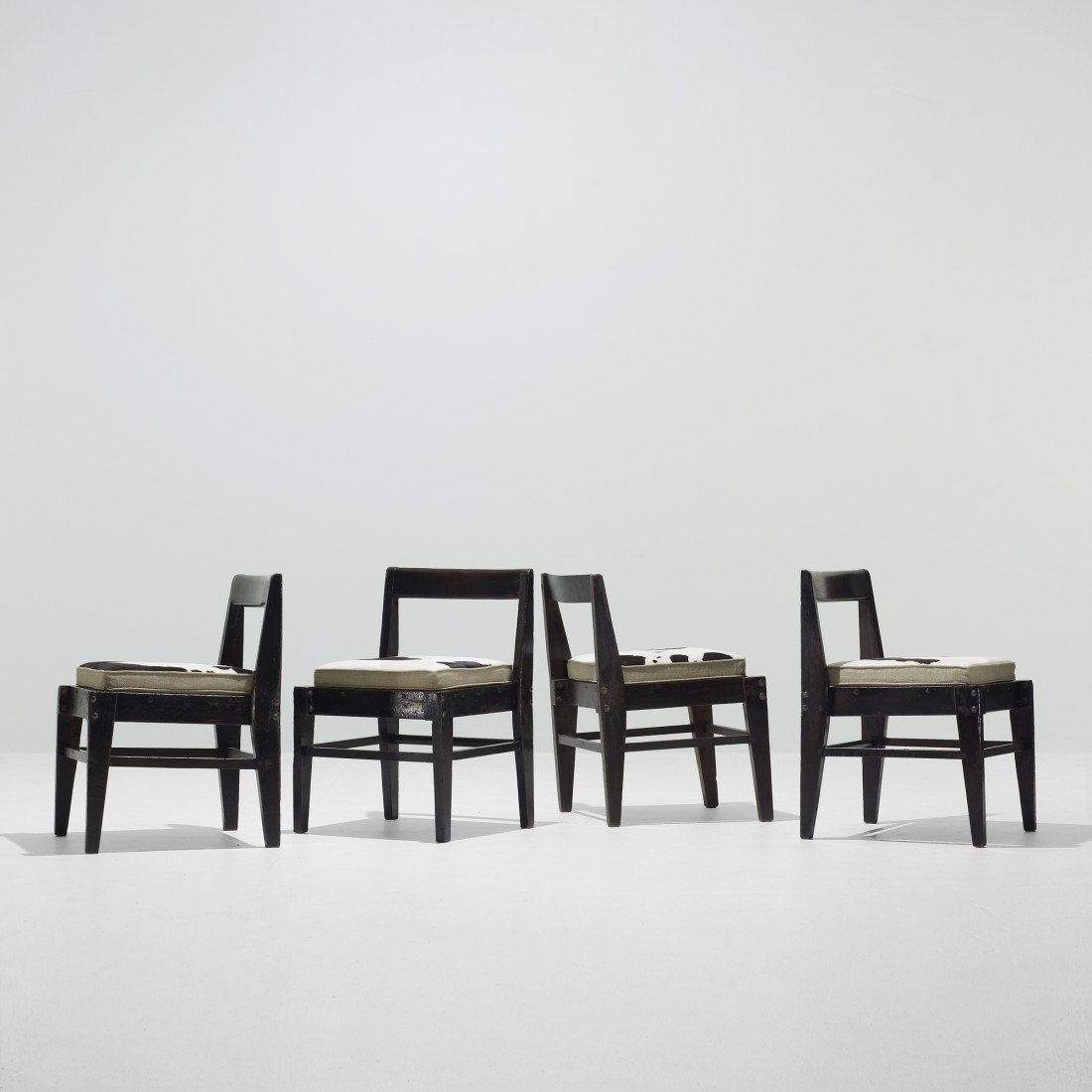119: Pierre Jeanneret set of four chairs