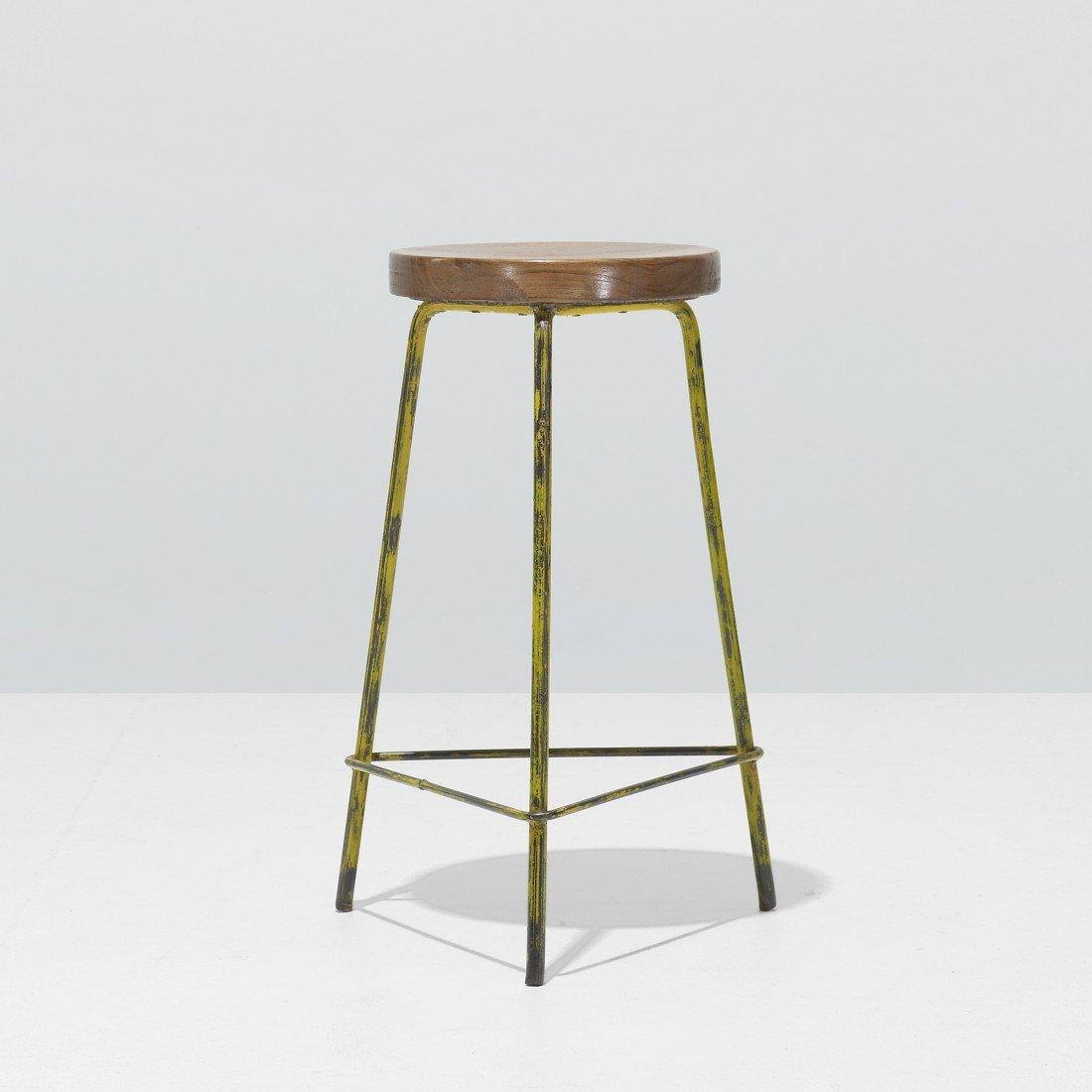 126: Pierre Jeanneret stool
