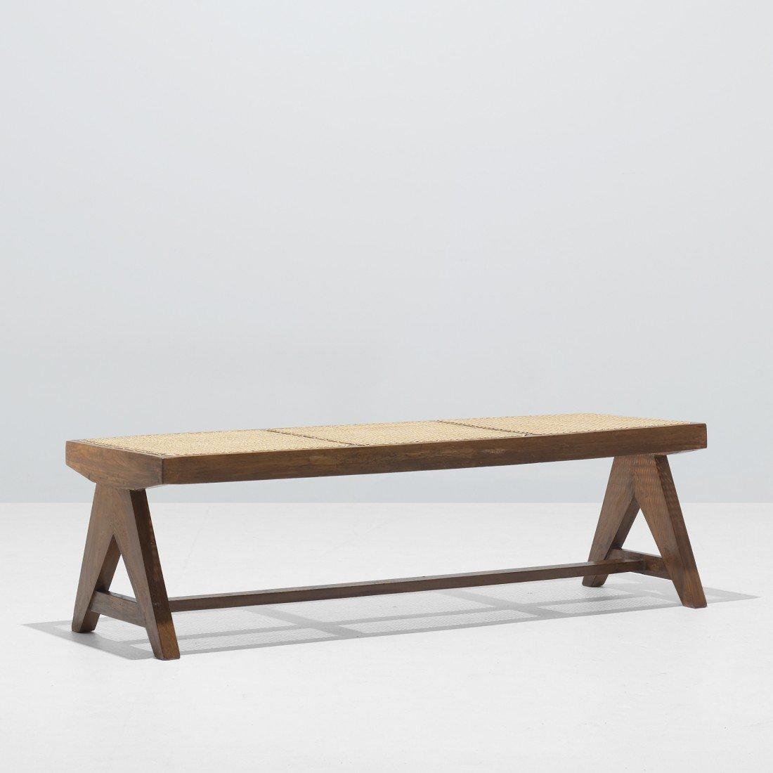 127: Pierre Jeanneret bench