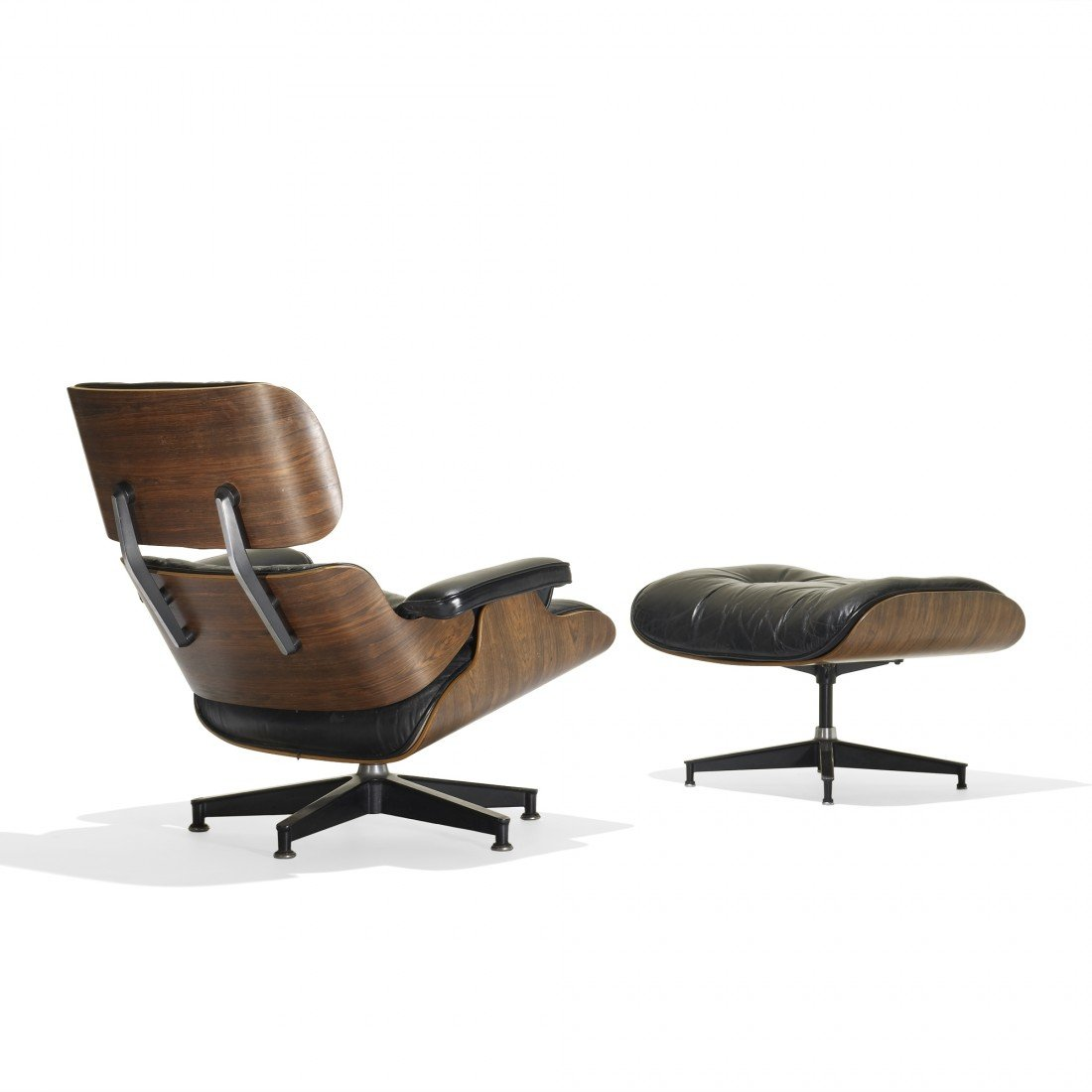 134: Eames 670 lounge chair and 671 ottoman