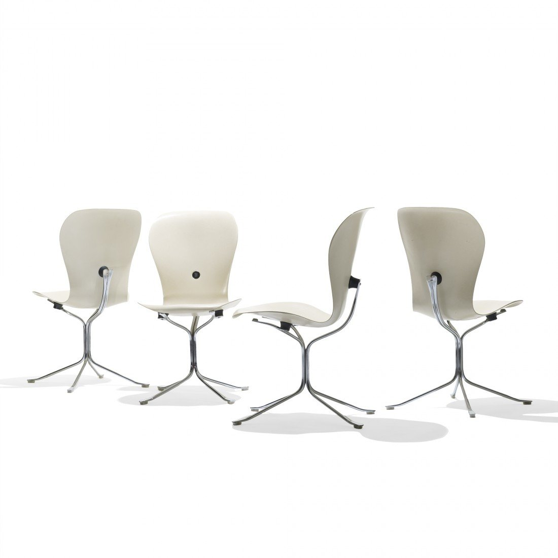139: Gideon Kramer Ion chairs, set of six