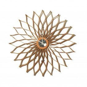 George Nelson & Associates Sunflower Wall Clock