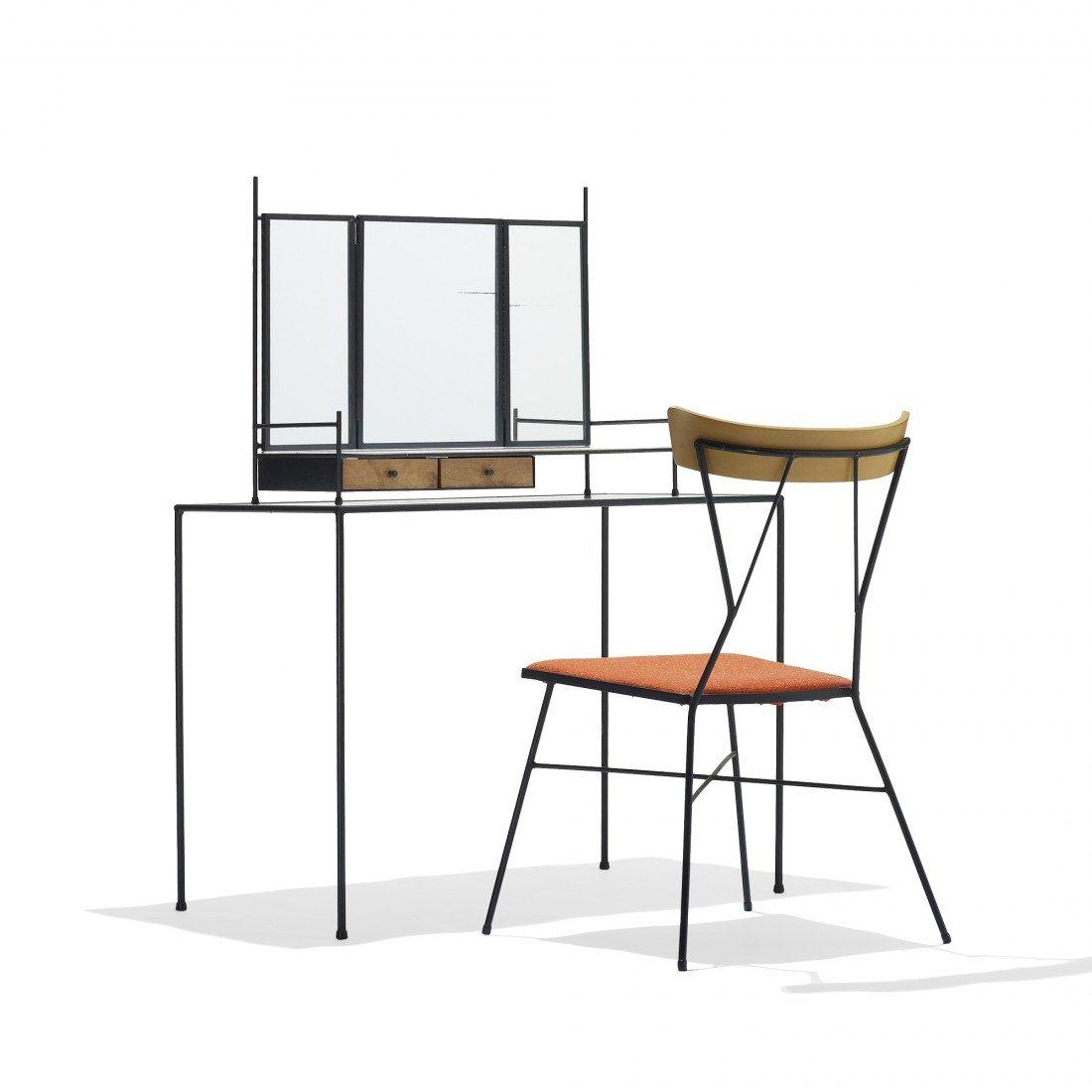 177: Paul McCobb vanity and chair