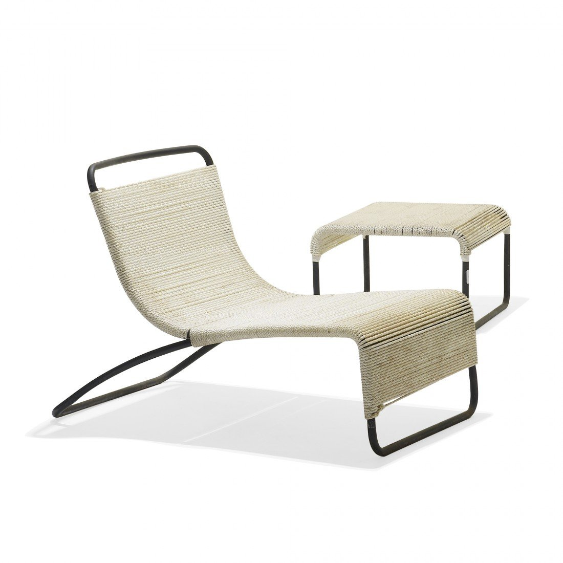 179: Van Keppel and Green lounge chairs and ottomans
