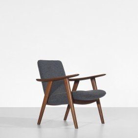 112: Hans Wegner Buck lounge chair