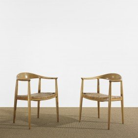 122: Hans Wegner The Chairs, pair
