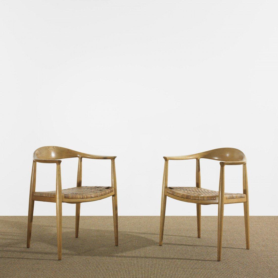 122: Hans Wegner The Chairs, pair