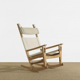 123: Hans Wegner rocker, model 673