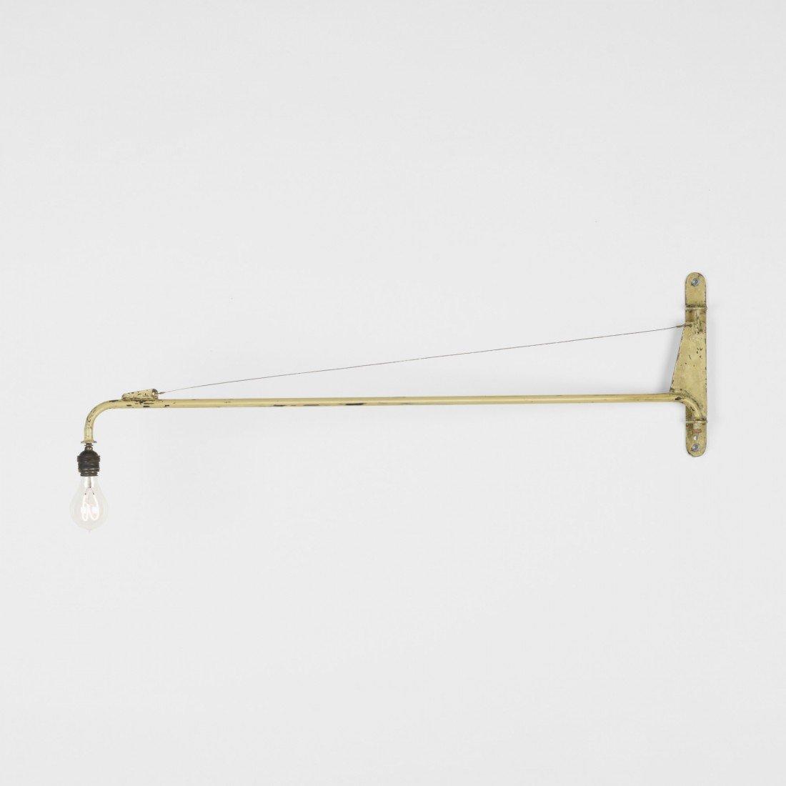 110: Jean  Prouvé Swing-Jib lamp