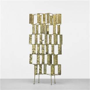 130: Harry Bertoia untitled (Mutli-Plane Construction)