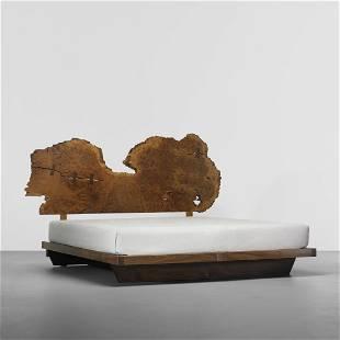 142: George Nakashima Important king-size bed
