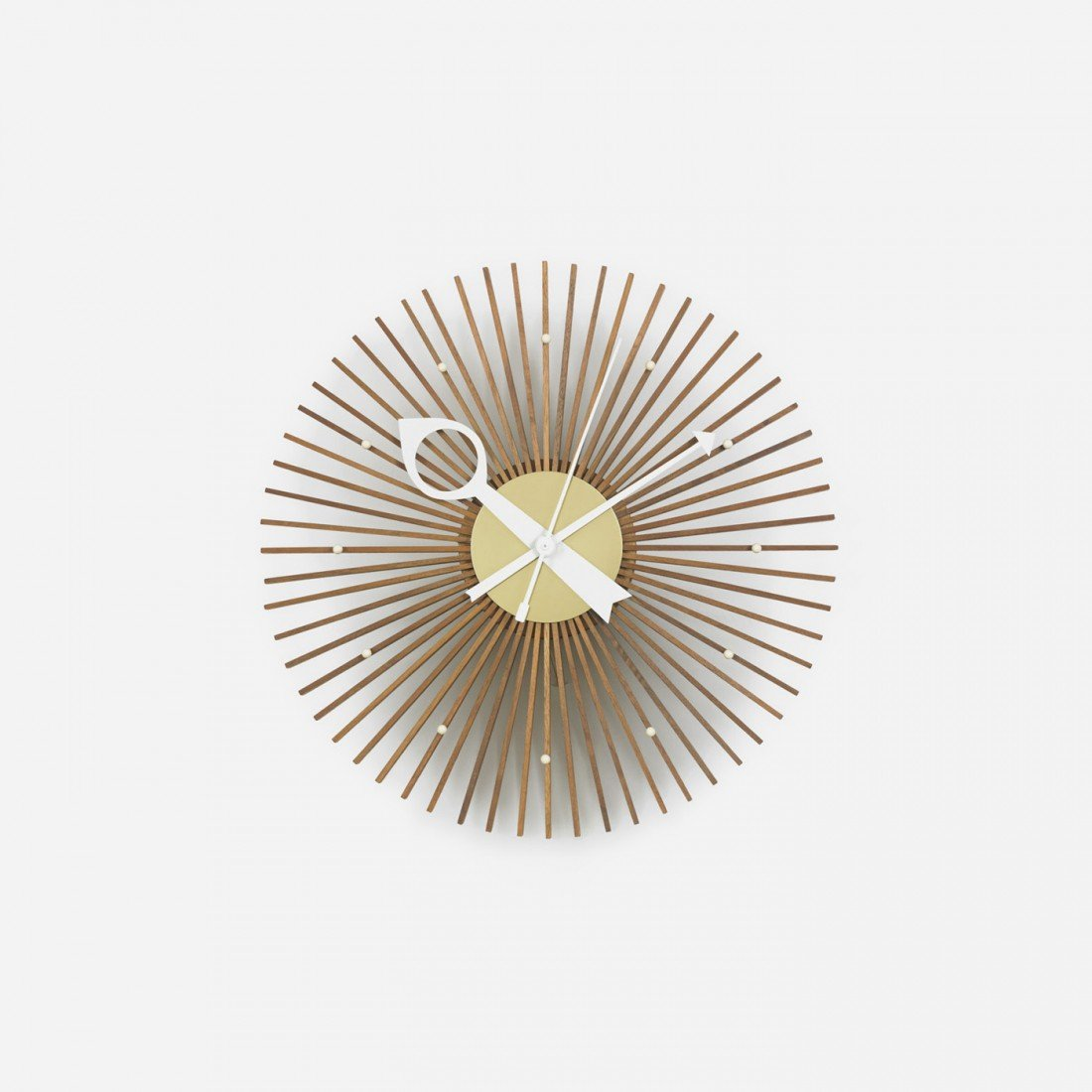 107: George Nelson & Associates Popsicle wall clock