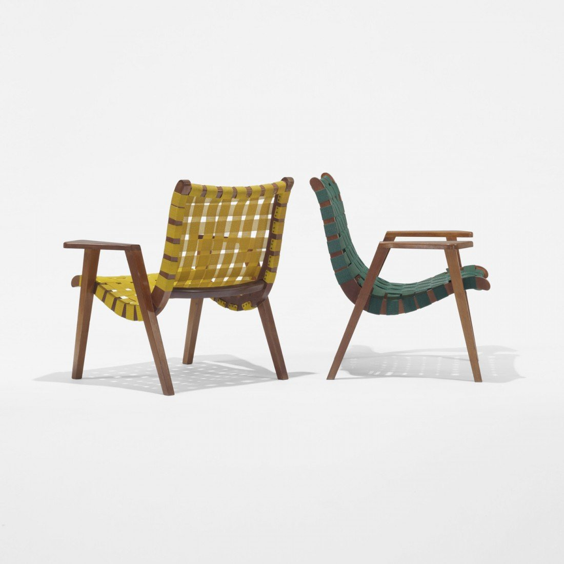 149: Ralph Rapson armchairs model 41, pair