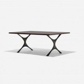 Nelson & Associates Bronze Group Coffee Table