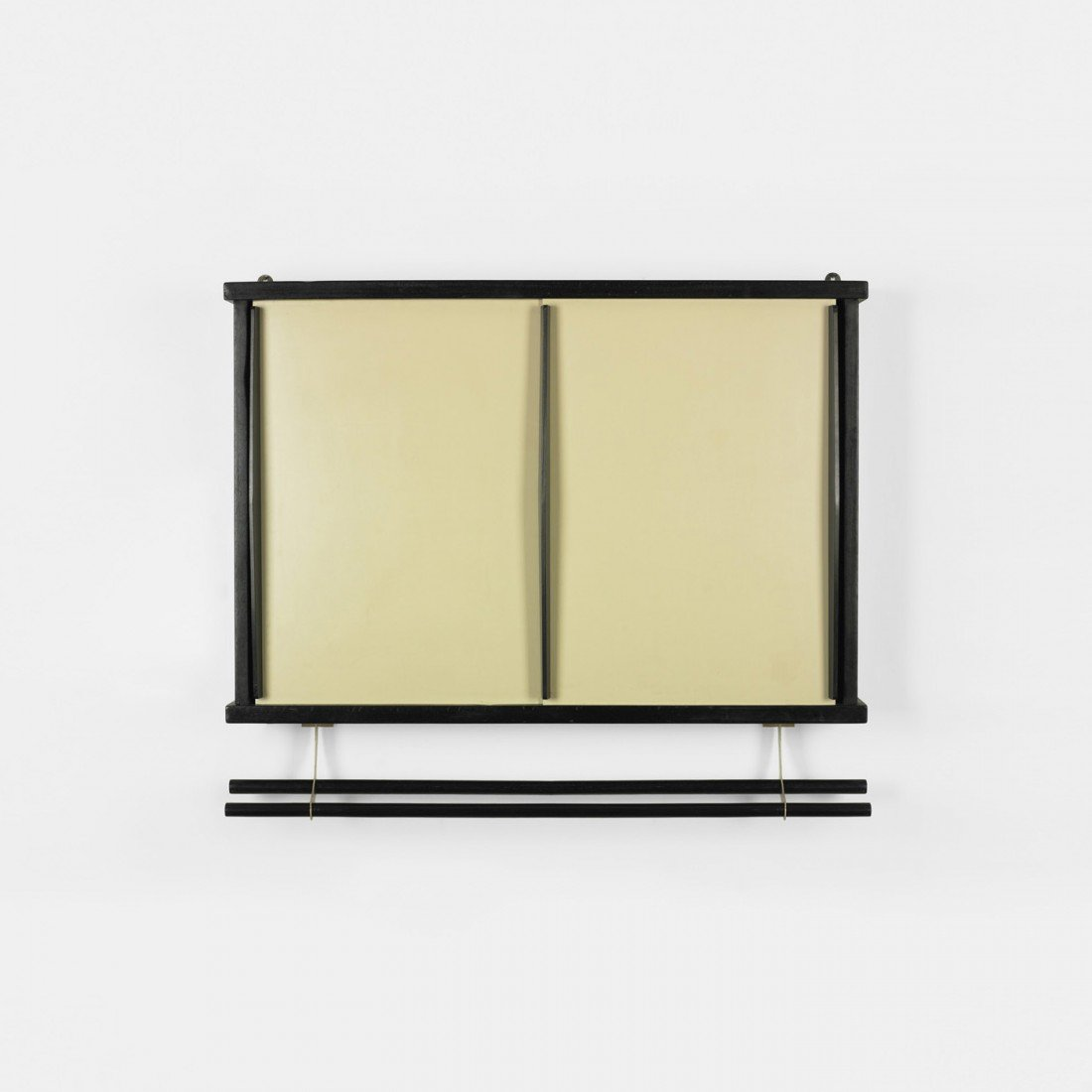 164: Charlotte Perriand wall-mounted cabinet