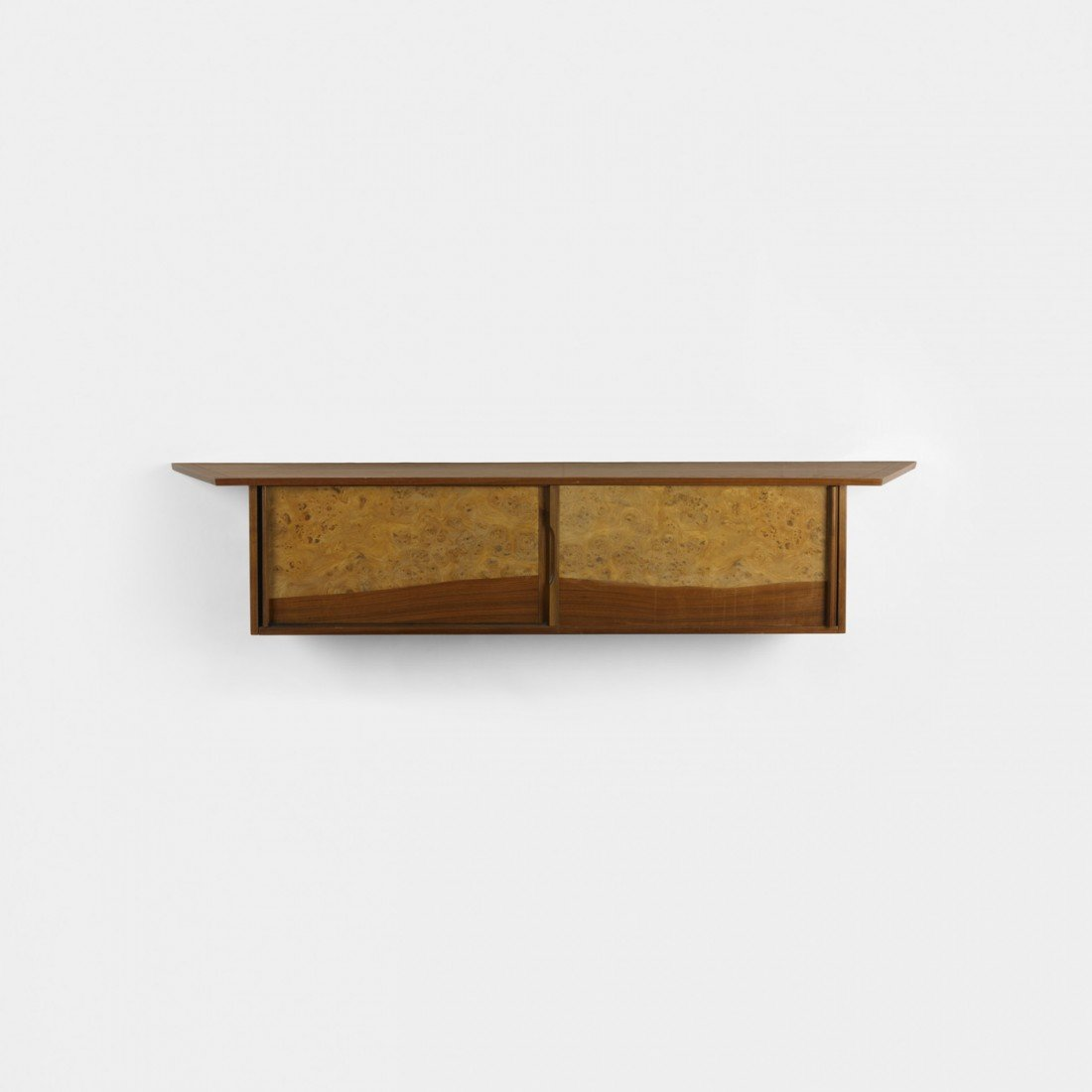 218: George Nakashima Origins wall-mounted cabinet