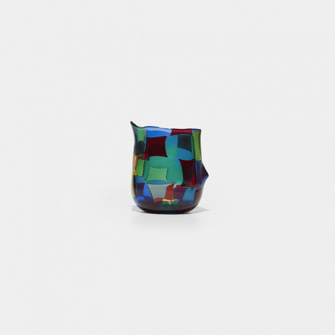 329: Fulvio Bianconi Pezzato vase