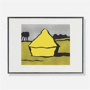 Roy Lichtenstein Haystack
