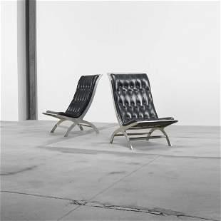 John Vesey Maximilian lounge chairs, pair