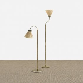 Josef Frank Floor Lamps Model 1838, Pair