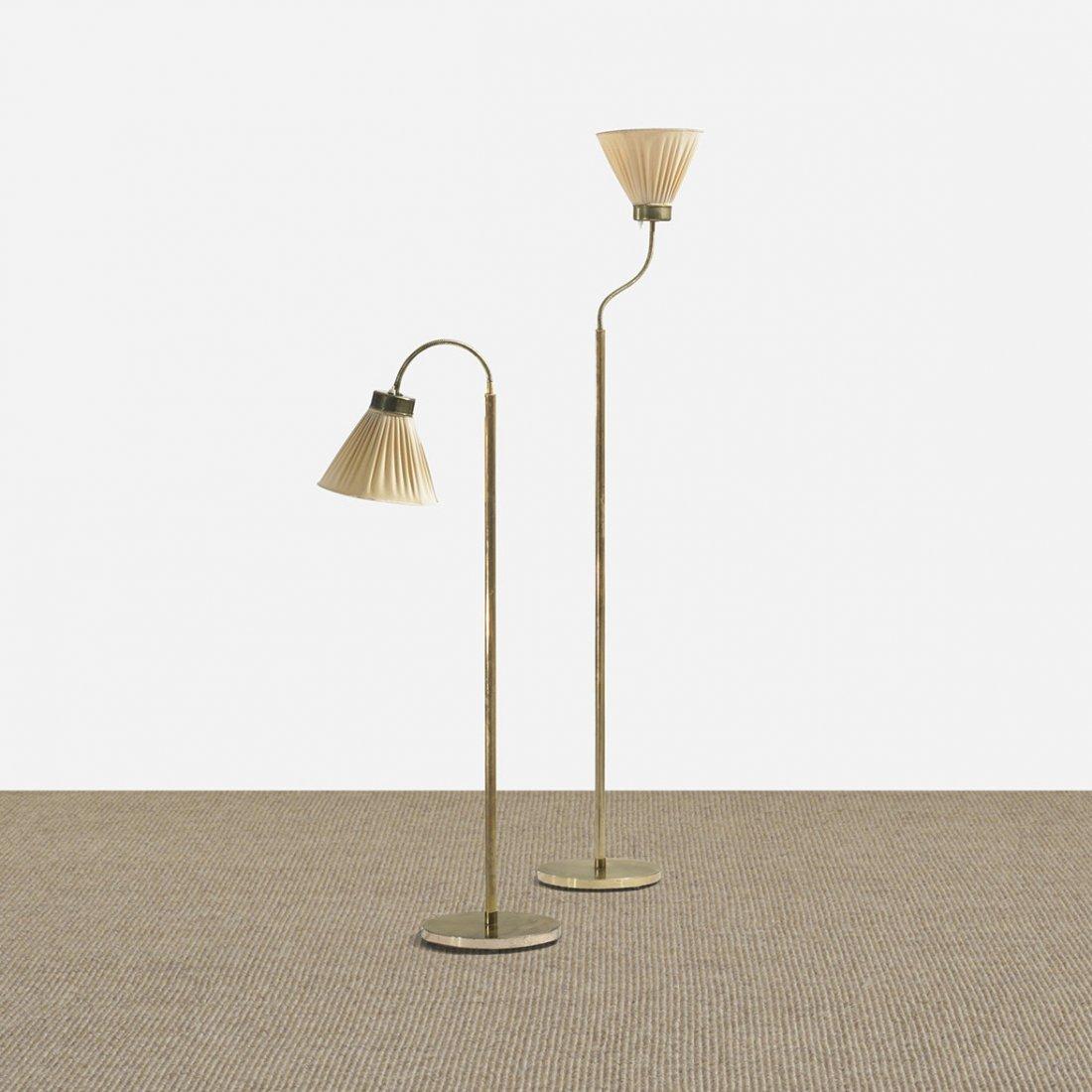 123: Josef Frank floor lamps model 1838, pair