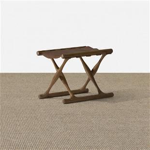 199: Poul Hundevad Guldhoj folding stool
