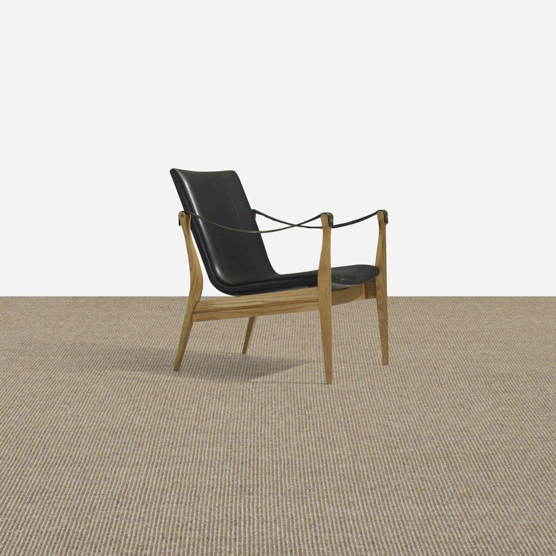 283: Karen and Ebbe Clemmensen lounge chair, model 4305