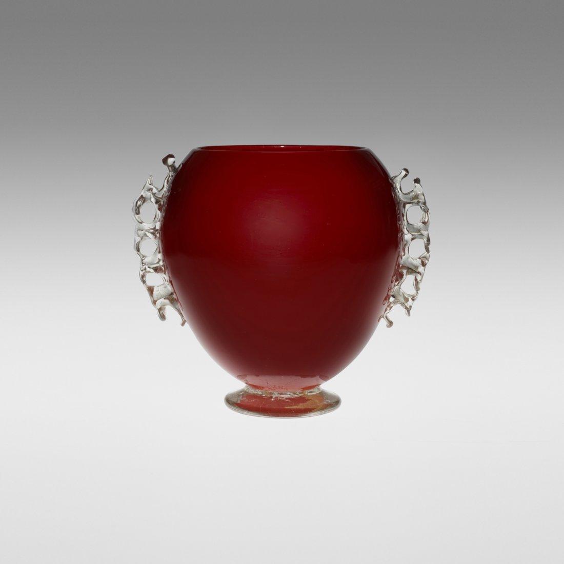 119: Barovier Seguso & Ferro vase